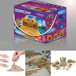شن های جادویی motionsand شن بازی اسباب بازی کودک سرگرمی بازی مهدکودکی بازی آپارتمانی