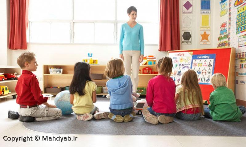 نحوه گرفتن کارت مربیگری مهد کودک