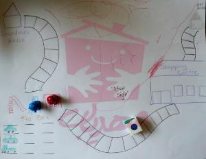 بازی تخته ای صفحه ای دست ساز