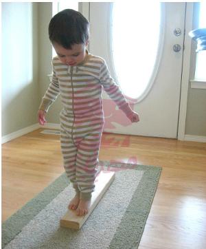 بازی حفظ تعادل کودک
