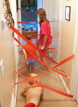 بازی های فیزیکی کودک